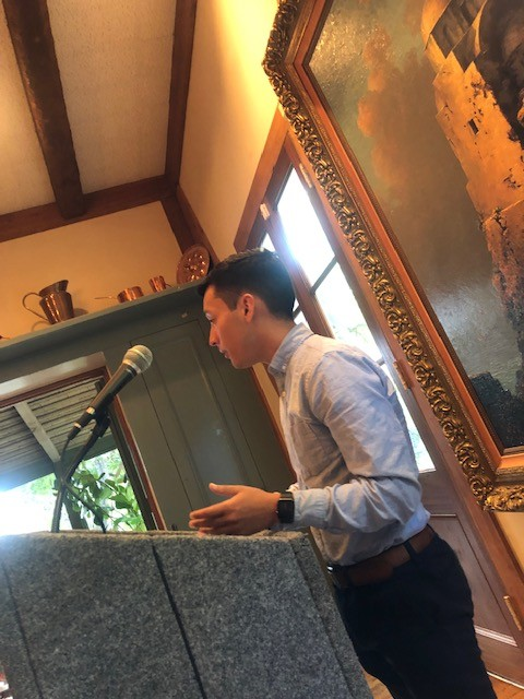 program graduate shares his story and time with women from the Bexar County Women's Bar Foundation